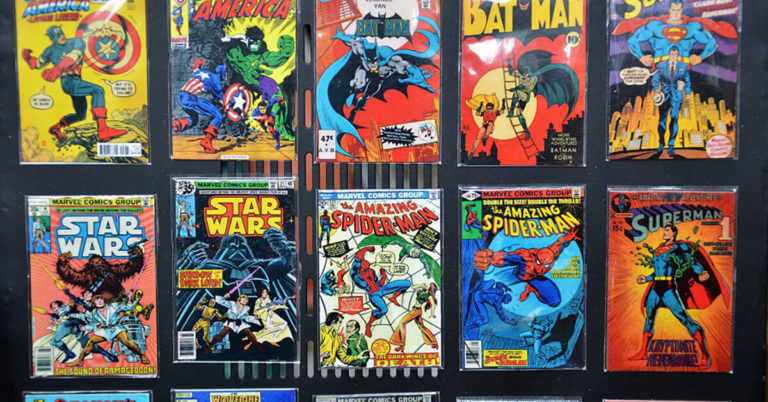 """Bidding on Comic Book Storage Units: Lessons from the """"Comic Book Men"""""""