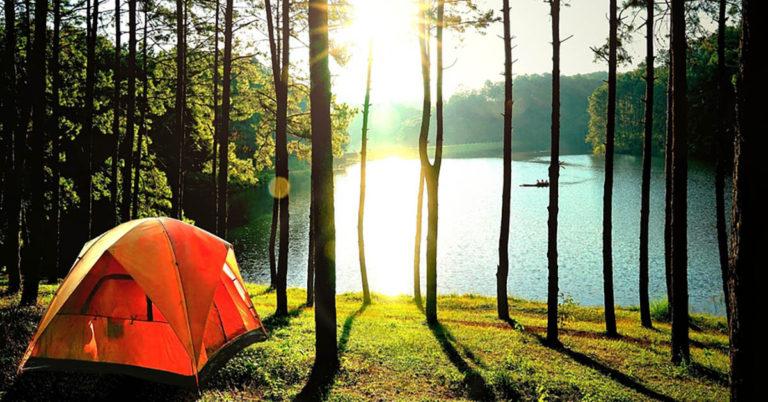 Tent Storage Ideas