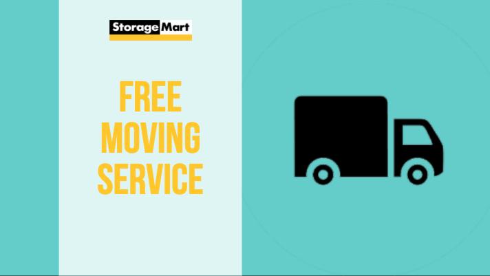 Free Moving Service at Brooklyn StorageMart