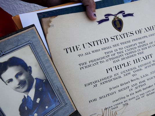 Purple Heart, Distinguished Service Cross Found in Florida Storage Unit