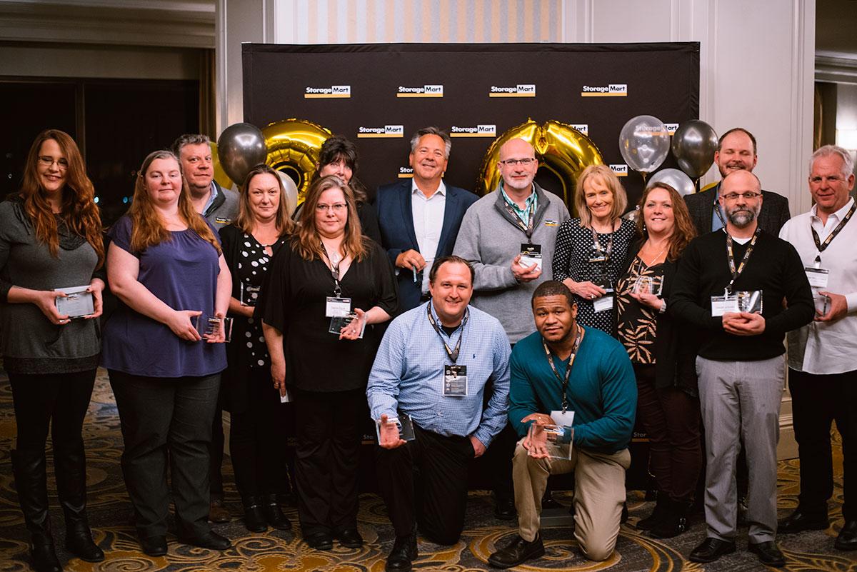 Celebrating StorageMart work anniversaries