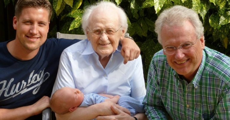 four generations of a family